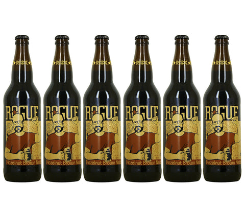 Rogue Hazelnut Brown Nectar. 355ml. Buy 5 Get 6 (1 FREE) + FREE beer snack! (SPB01)