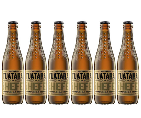 Tuatara Bavarian Hefe. 330ml. Buy 5 Get 6 (1 FREE) + FREE beer snack! (BV033)