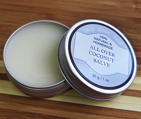 Theristes Organic All-Over Coconut Salve. 30g. (RI01)
