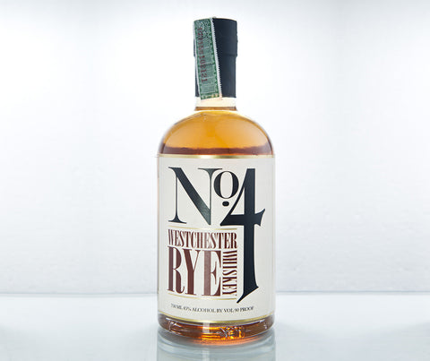 No. 4 Westchester Rye Whiskey 750 ml. (BT09).