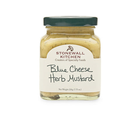 Blue Cheese Herb Mustard. 220g. (SSS013)