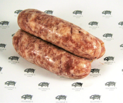 Sloane's Breakfast Sausages. 500g. (SL062)