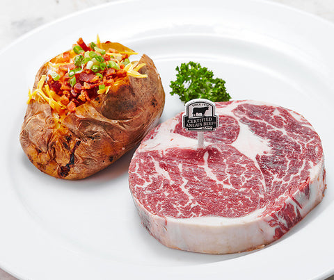 US certified angus beef ribeye from Passion Delivery