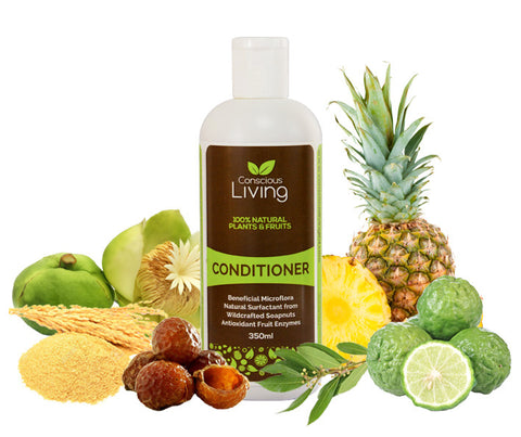 Conscious Living 100% Natural Conditioner. 350ml. (CL02)