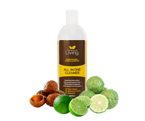 Conscious Living 100% Natural All in One Cleaner. 500ml. (CL06)