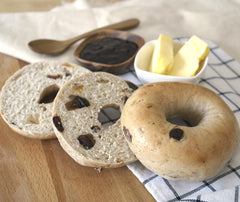 Cinnamon & Raisin Bagel (3pcs). (FPCR)