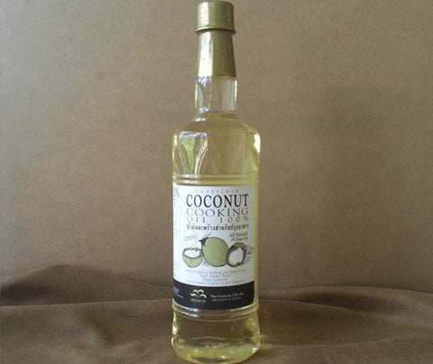 Nuttarin Coconut Cooking Oil. 750ml. (NU005)