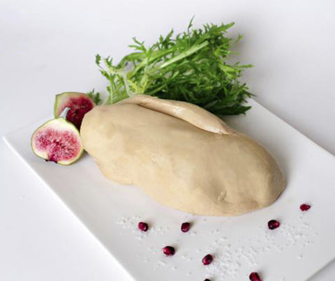 Whole Duck Foie Gras Raw (Grade A). 500g. (JW020).