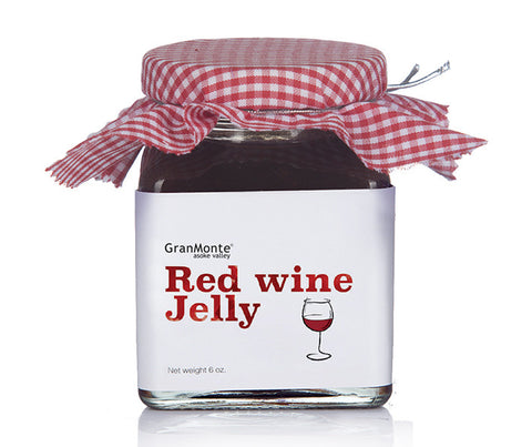 Red Wine Jelly. 6oz. (GMT022)
