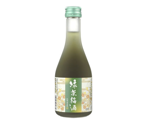 Green Tea Umeshu. (WN038)