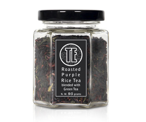 TE Roasted Purple Rice Blended with Green Tea. 90g. (TTL001)