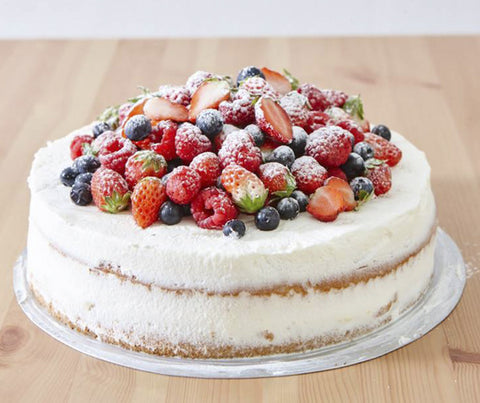 Mixed berries shortcake (Best seller) (whole tart). (YS062)