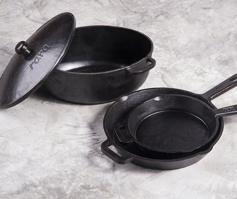 Cast iron frying pan (small) (SL016)