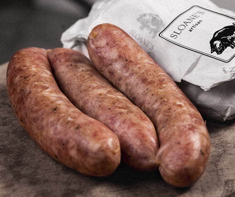 Sloane's Toulouse Sausages. Gluten free. 500g. (SL005)