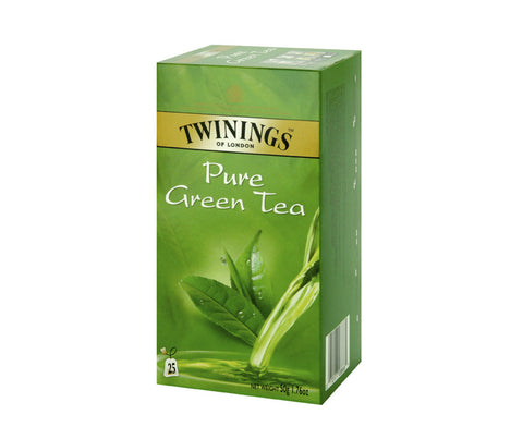 Twinings Pure Green Tea. 25 bags. (TWN019)