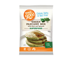 Gluten Free Green Pancake Mix with Kale & Spinach. 175g. (SSL02)