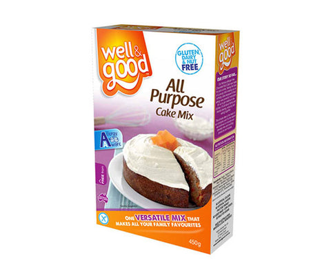 Gluten Free All Purpose Cake Mix. 450g. (SSL07)