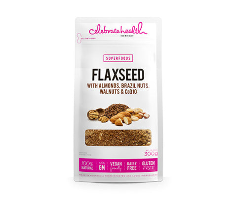 Flaxseed with Nuts. 300g. (SSL20)