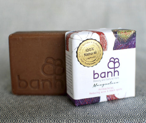 banh Mangosteen Soap. 100g (ST01)