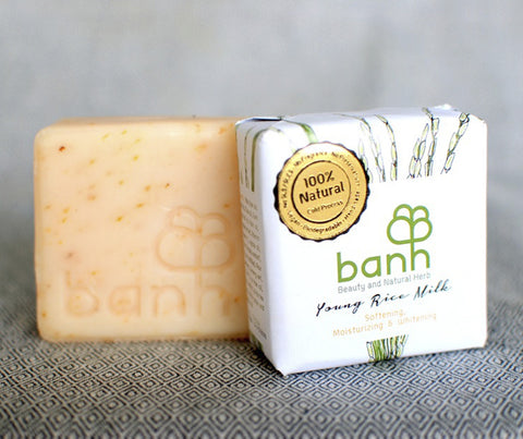 banh Young Rice Milk Soap. 100g (ST03)