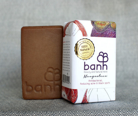 banh Mangosteen Soap. 230g (ST04)