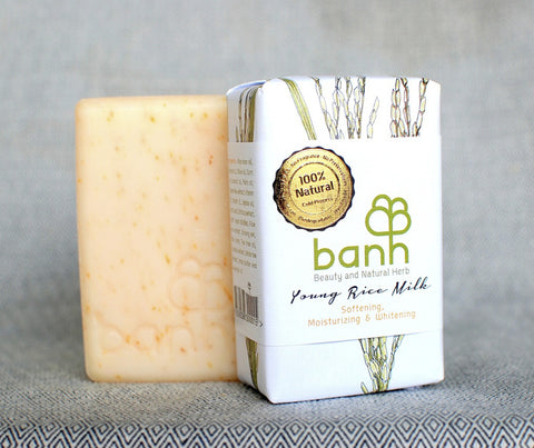 banh Young Rice Milk Soap. 230g (ST06)