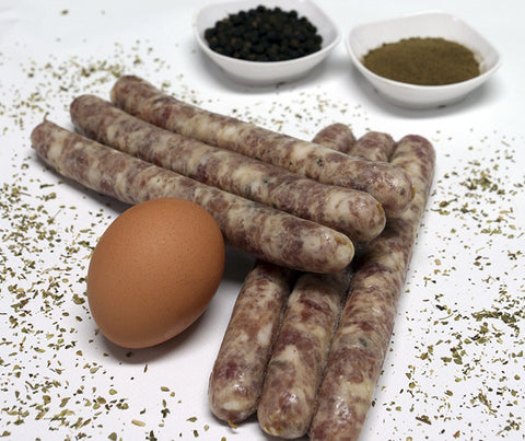Really Good Cumberland Pork Breakfast Sausages. Gluten free. 500g. (SUN01)