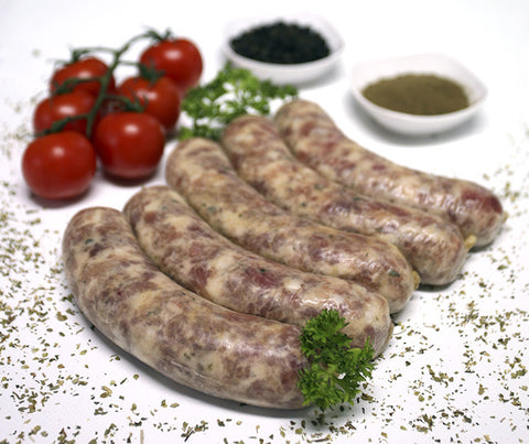 Really Good Cumberland Pork Dinner Sausages. Gluten free. 500g. (SUN02)