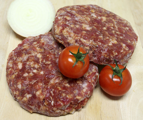 Really Good 100% Beef Char Grilled Burgers. Gluten free. 340g. (SUN08)