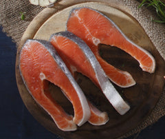 Norwegian Salmon Steak (pc). 280g. (TMS001)
