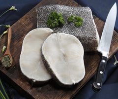 Chilean Seabass (Snowfish) Steak (pc). 250g. (TMS002)