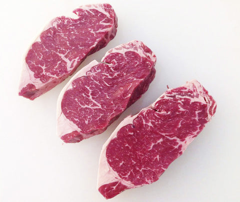 Tasmanian Grass Fed Angus Striploin Steak (per pc). 250g. (AB003)