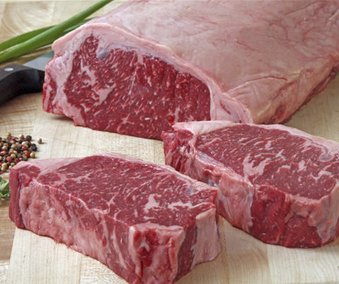 Tasmanian Grass Fed Angus Striploin (whole piece). Approx 4.0 - 4.6kg. (AB024)