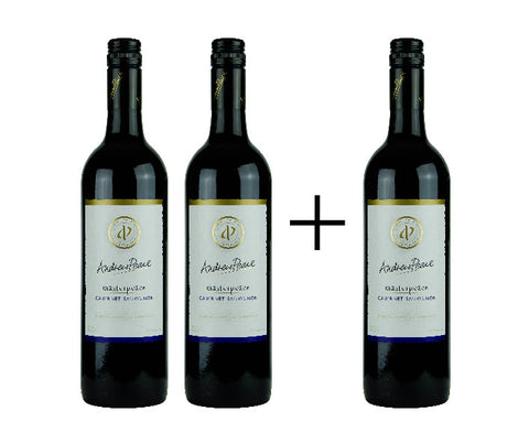 3 x Andrewpeace - Cabernet Sauvignon 2015. 750ml. (TR12s). Buy 2 Get 1 FREE!