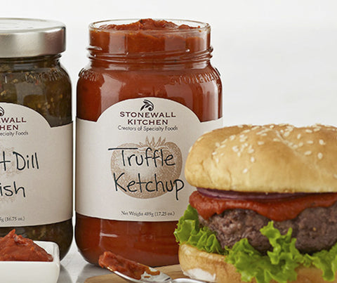 Truffle Ketchup. 489g. (SSS020)