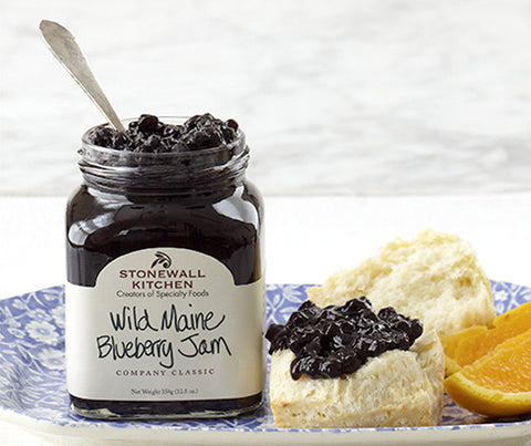 Wild Blueberry Maine Jam. 354g. (SSS004)