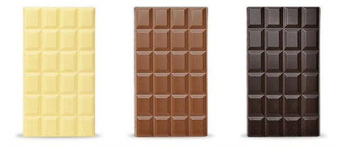 Solid Belgian Chocolate Bars - 100 Grams