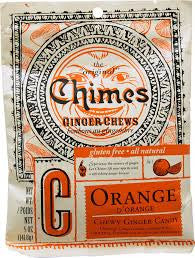 Chimes Ginger Chews - Orange