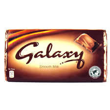 Galaxy Milk Chocolate Bar - 114 Grams