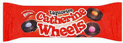 Barratt Licorice Catherine Wheels - 113 Grams
