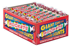 Large Rocket Candy Rolls