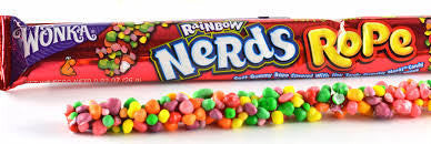 Rainbow Nerds Rope Candy Packs: 24-Piece Box | CandyWarehouse.com
