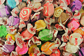 Assorted Saltwater Taffy - 500 Grams