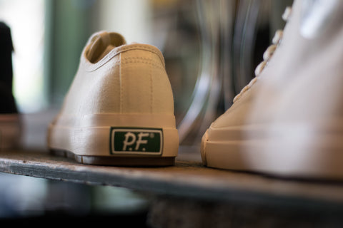 PF Flyers Grounder Low and All American Hi