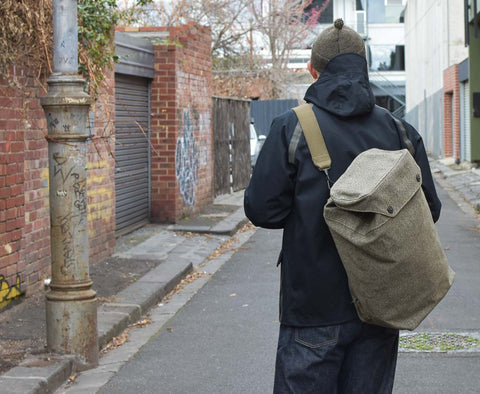 Nigel Cabourn Hand Cannon - Multi Carry Bag