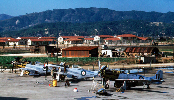 US Air Force Base at Iwakuni, Japan C1950