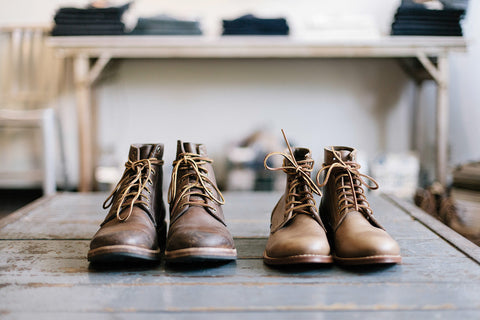 Oak Street Bootmakers - New and Old