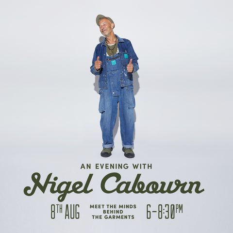 Nigel Cabourn Pickings and Parry In-Store 8th August 2019