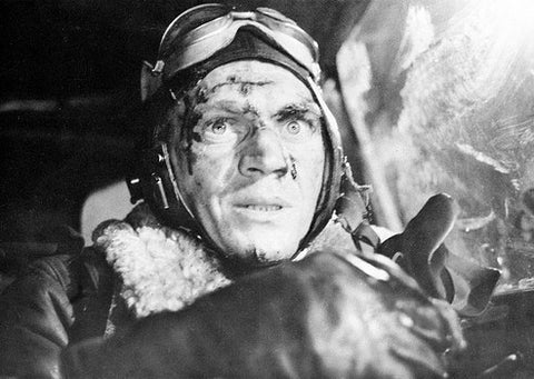 Steve McQueen as Pilot Buzz Rickson in The War Lover