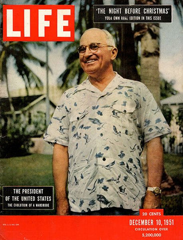President Harry Truman on the cover of LIFE Magazine